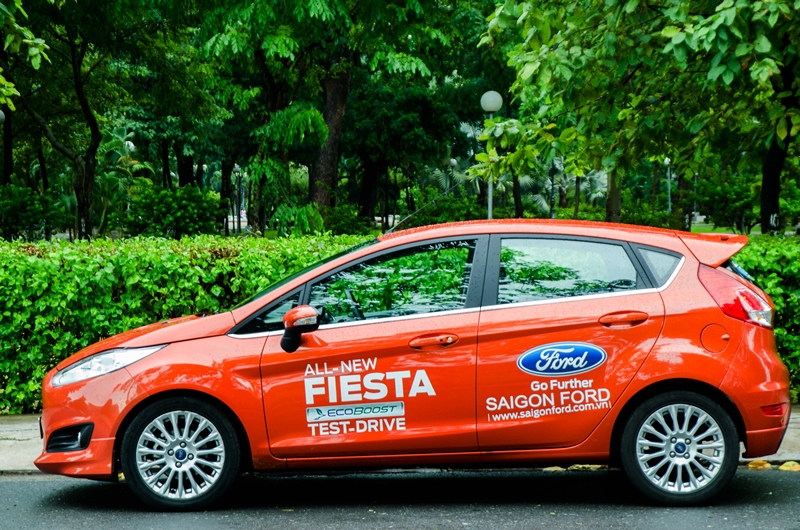 Ford Fiesta tại đại lý Ford Bình Phước