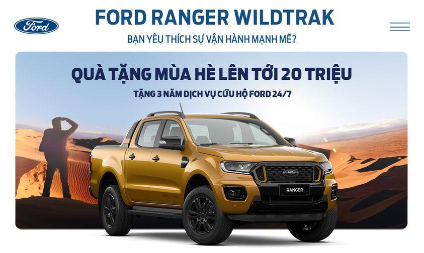 Ford Bình Phước khuyến mãi xe Ford tháng 10/2021