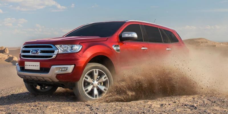 Đánh giá chi tiết dòng xe SUV Ford Everest 2020