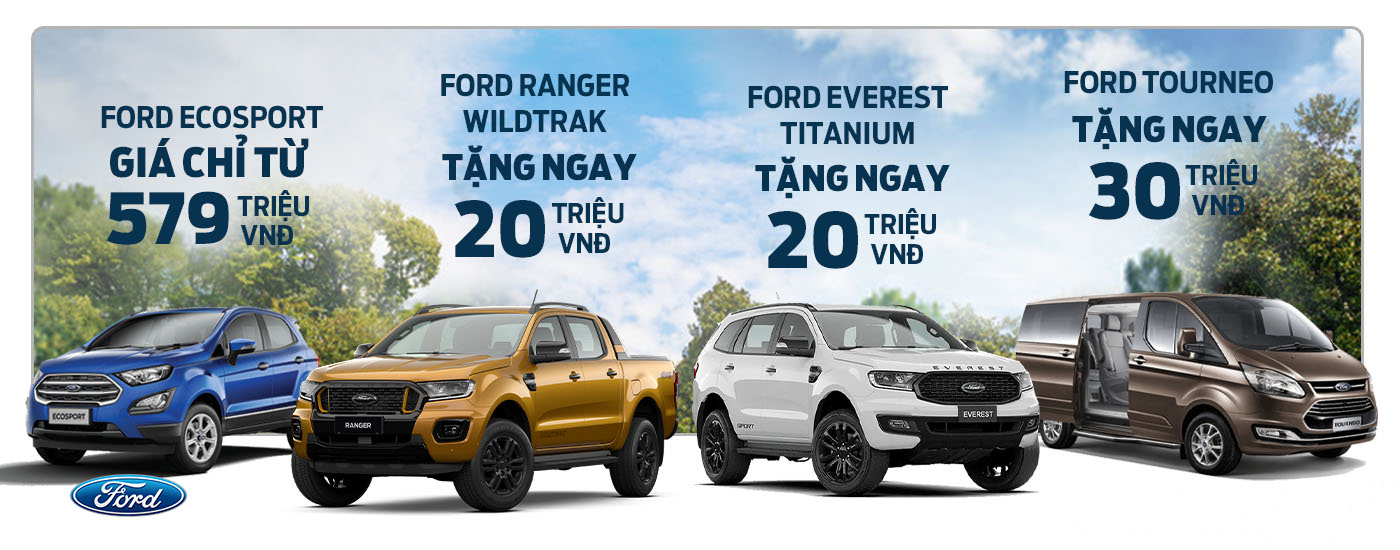 Khuyến mãi xe Ford tháng 06/2021 tại Ford Bình Phước
