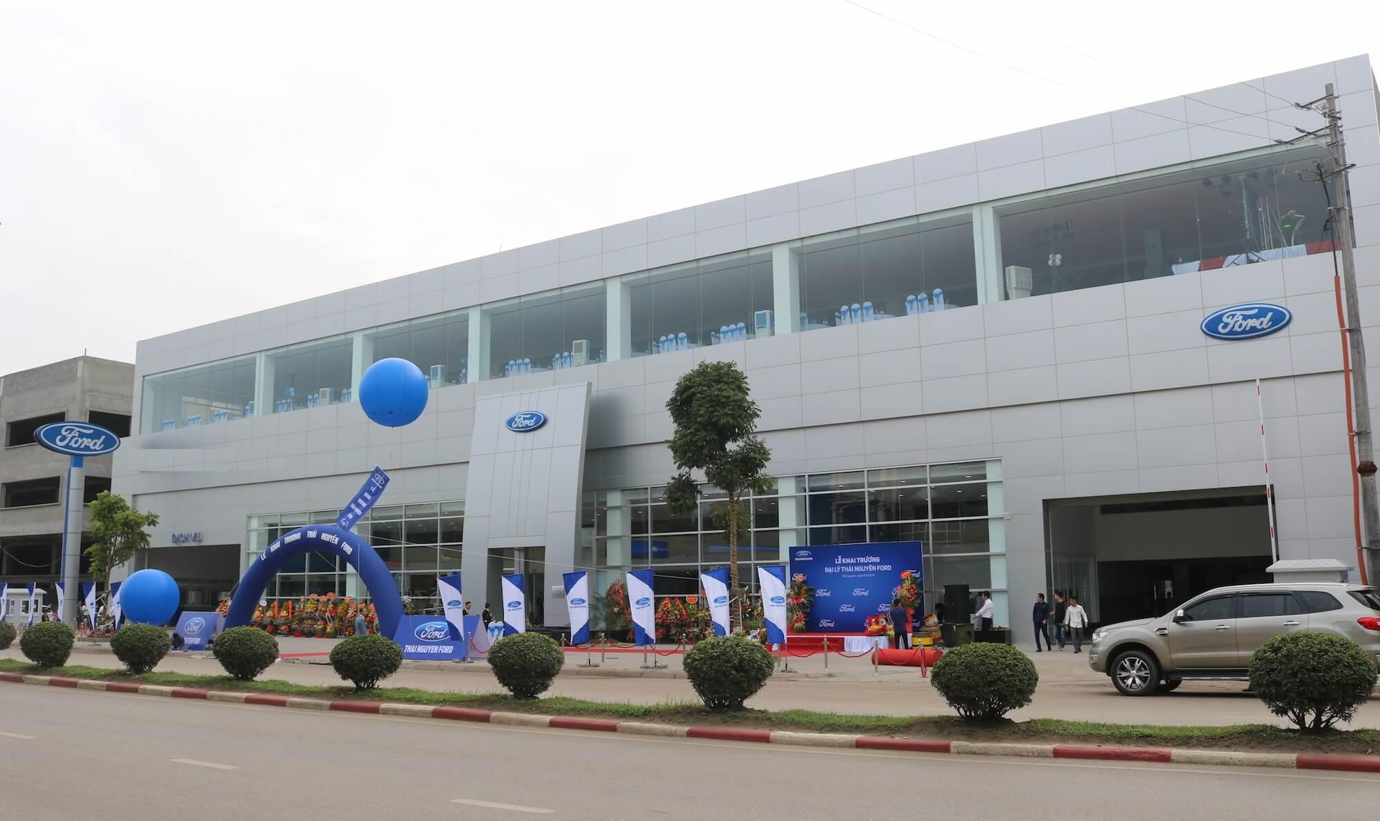 Ford Bình Phước - Chi nhánh 2S của Ford Bình Dương tại Đông Nam Bộ