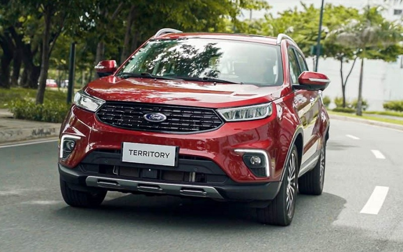 Đánh giá chi tiết Ford Teritory 2021